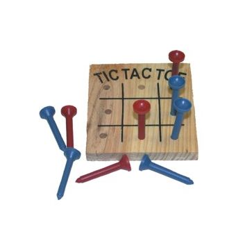 TIC-TAC-TOE WOODEN GAMES