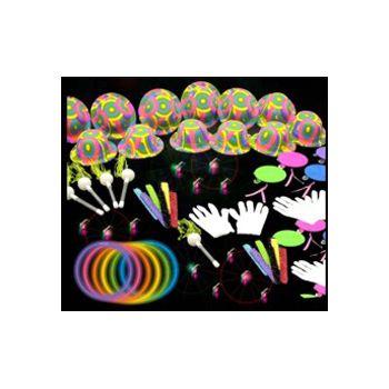 COMPLETE NEON PARTY KIT (388 pcs)