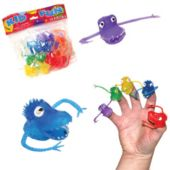 Monster Finger Puppets - 144 Pack