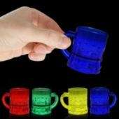 Mug Shaped Mini Shot Glasses - 12 Pack