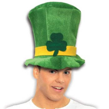 St. Patrick's Day Velvet Top Hat