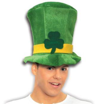 St. Patrick's Day Velvet Top Hat