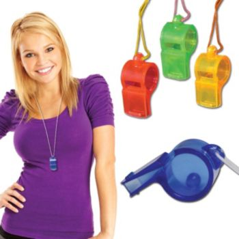 WHISTLE NECKLACES