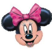 Minnie Mouse Head Balloon - 26 Inch
