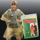Rain Poncho (Economy) - 12 Pack