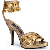 Gold Gypsy Shoes Adult - 9