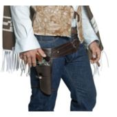 Authentic Western Gunman Belt & Holster Adult
