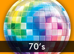 70's & Disco Theme Party Supplies