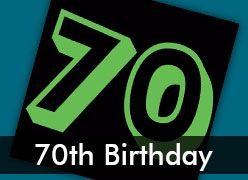 70th Birthday Party Decorations & Supplies