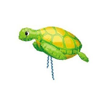 Sea Turtle Metallic Balloon - 30 Inch