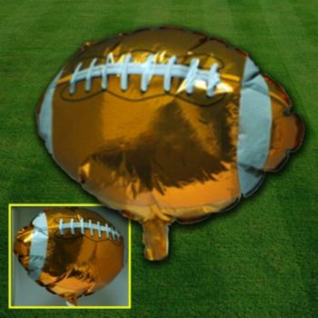 Football Metallic Balloon - 18 Inch