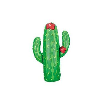 Cactus Metallic Balloon - 41 Inch