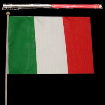 "Italian Cloth Flag 12"" X 18"""