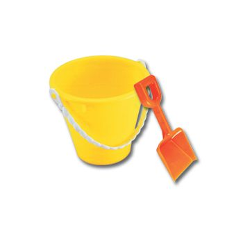 BEACH PAILS   WITH SHOVELS