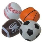 "2 1/2"" Assorted Sports Balls"
