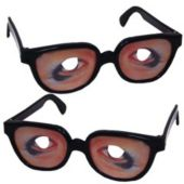 Funny Eyeball Glasses - 12 Pack