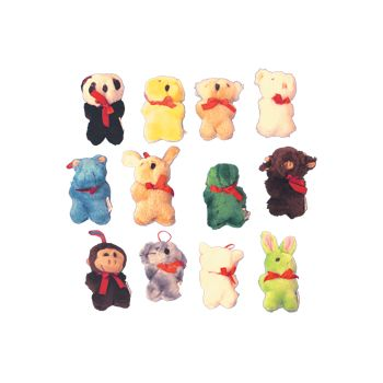 "Plush Animal  4 12"" Assortment"