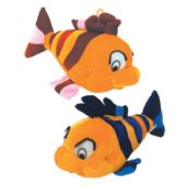 "Plush Fish-12""-12 Pack"
