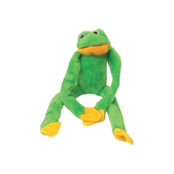 "14""  PLUSH  SMALL  HANGING  FROG"