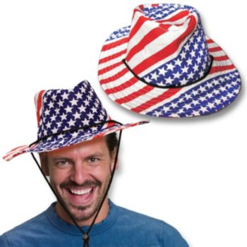 STARS & STRIPES   COWBOY HAT