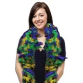 Mardi Gras Feather Boa - 6 Foot