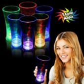 Multi-Color LED 14 Oz Pilsner Glass