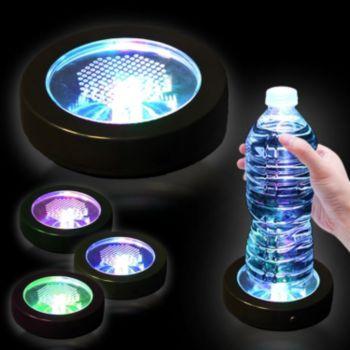Multi-Color LED Drink Coaster