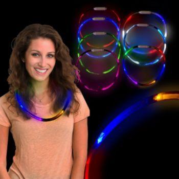 LED 6 Color Fiber Optic Necklace