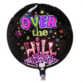 "Over The Hill Birthday 18""  Balloon"