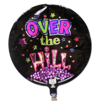 Over the Hill Birthday Balloon - 18 Inch