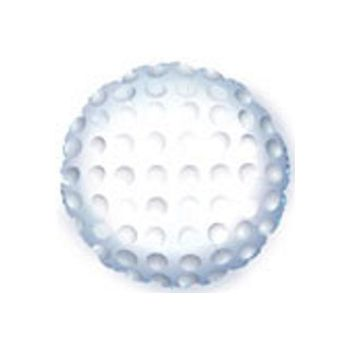 Golf Ball Metallic Balloon - 18 Inch