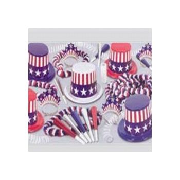SPIRIT OF AMERICA   PARTY  KIT FOR 25