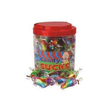 CANDY SUCKS SUCKERS