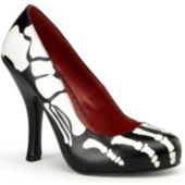 Skeleton (Female) Adult Shoes - 9