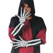 Skeleton Glove And Wrist Bone Gloves (Adult)