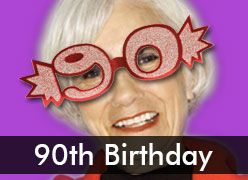 90th Birthday Party Decorations & Supplies