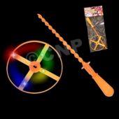 Flashing LED Whirlywheels - 12 Pack