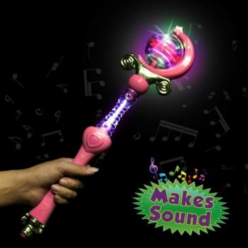 LED Magic Princess Wand - 18 Inch
