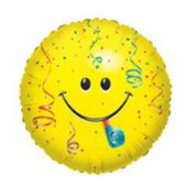 "Smiley Face Birthday 18"" Balloon"
