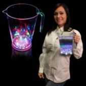Flashing Multi-Color LED Serving Pitcher - 48 Ounce