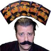 Jumbo Mustaches - 12 Pack