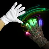 Rock Star LED and Light-Up Right Hand Sequin Glove