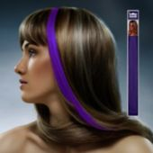 Purple Hair Extension