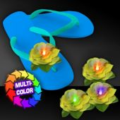 Yellow LED Flower Hair Clip