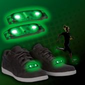 Green LED Shoe Beatz -1 Pair