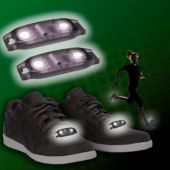White LED Shoe Beatz - 1 Pair