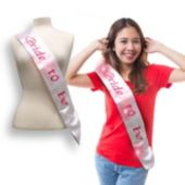 Bride to Be Light Up Sash