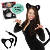 Black Cat Costume Set
