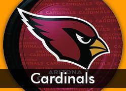 Arizona Cardinals Party Supplies