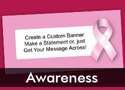 Awareness Custom Banners